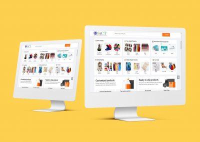 Ecommerce Website-SiCT